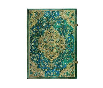 PAPERBLANKS PAPERBLANK JOURNAL TURQUOISE CHRONICLES GRANDE UNLINED