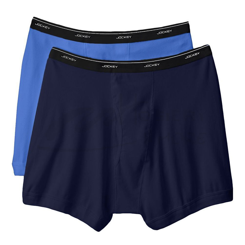 Jockey Jockey 2 Pack Boxer Brief Indigo and Black