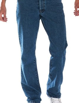 Full Blue 5 Pockets Regular Fit Jeans 42-72