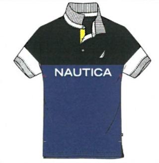 NAUTICA NAUTICA NAVITECH LOGO S/S POLO