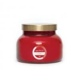 capri blue 19OZ HOLIDAY RED SIGNATURE CANDLE VOLCANO