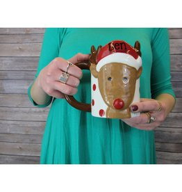REINDEER PERSONALIZED MUG