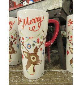 BE MERRY TRAVEL MUG
