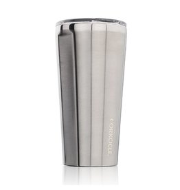 TUMBLER 16OZ BRUSHED STEEL