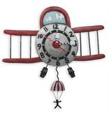 ALLEN CLOCKS ALLEN CLOCK AIRPLANE JUMPER