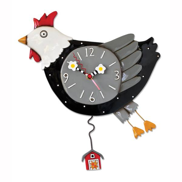 ALLEN CLOCKS ALLEN CLOCK FLEW THE COOP