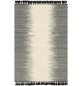 Loloi CHANTILLY IVORY/BLACK MAGNOLIA RUG