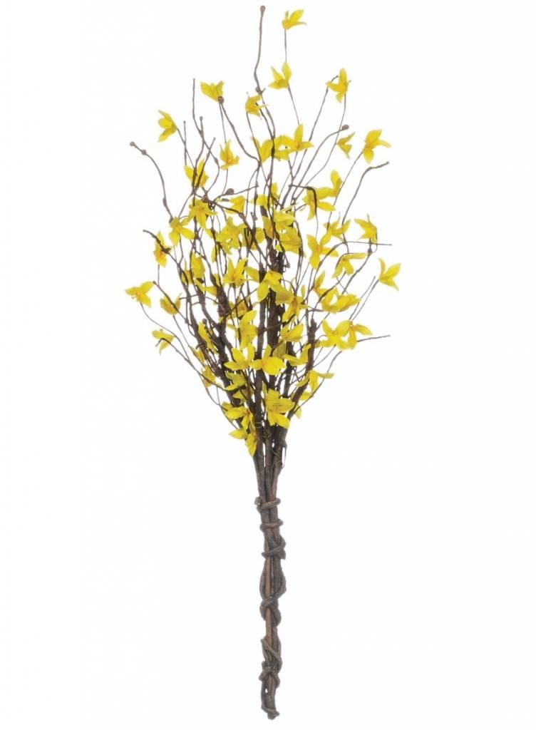 """20"""" Forsythia Bush Yellow"""