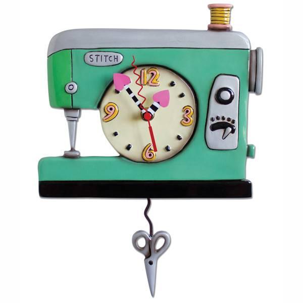 ALLEN CLOCKS ALLEN CLOCK STITCH SEWING MACHINE