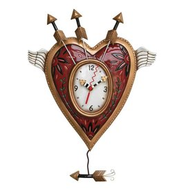 ALLEN CLOCKS ALLEN CLOCK WINGS OF LOVE