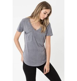 ZSUPPLY SUEDE POCKET T