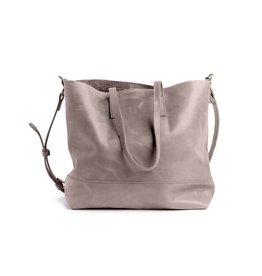 Fashionable Abera Crossbody Tote - Pewter