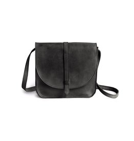 Fashionable Tirhas Saddlebag- Black