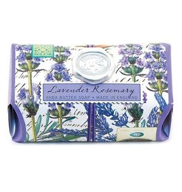 MICHEL LAVENDER ROSEMARY LARGE BATH SOAP BAR