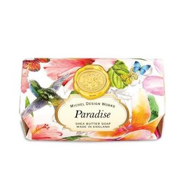 MICHEL PARADISE FOAMING LARGE BATH SOAP BAR