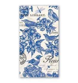 MICHEL INDIGO COTTON HOSTESS NAPKIN