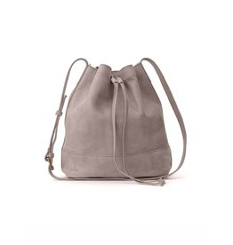 Fashionable Tadesse Bucket Bag- Pewter