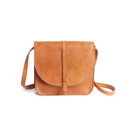 Fashionable TIRHAS SADDLEBAG- COGNAC