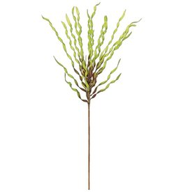 "TWIST GRASS BUSH 43"" GREEN/BURG L287-GBU"