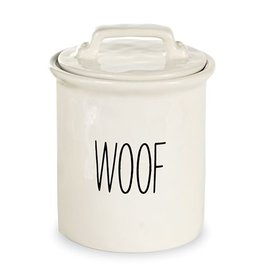 MUD PIE DOG TREAT CANISTER