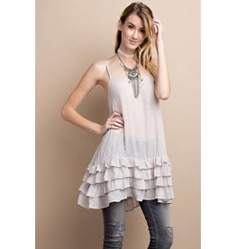 Ruffled Tank Tunic
