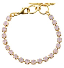 Mariana MINI GOLD AFTERNOON DELIGHT PALE PINK BRACELET