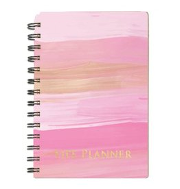 LIFE PLANNER INSPIRATIONAL PINK PAINT 7046
