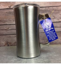 Double Walled 20oz Beer Mug - Stainless Steel