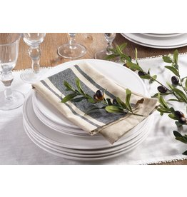 BANDED DESIGN NAPKIN NATURAL