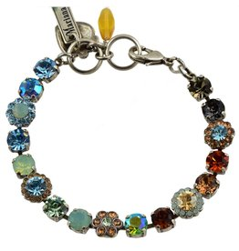 Mariana MARIANA SILVER FORGET ME NOT MIXED ELEMENT BRACELET