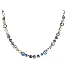 Mariana MARIANA SILVER COSMO MIXED ELEMENT NECKLACE
