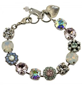 Mariana MARIANA SILVER COSMO LARGE MIXED ELEMENT BRACELET