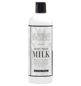 ARCHIPELAGO BOTANICALS MILK BODY WASH 17OZ