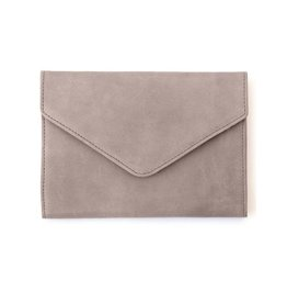 Fashionable Tigist Clutch- Pewter