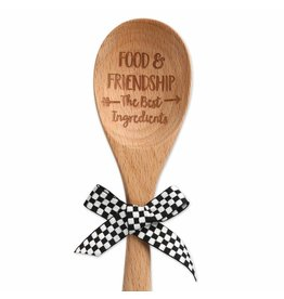"""FOOD & FRIENDSHIP"" SPOON"