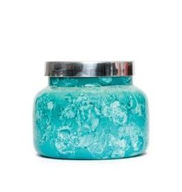 capri blue 19OZ MINT WATERCOLOR SIGNATURE JAR VOLCANO NO 6