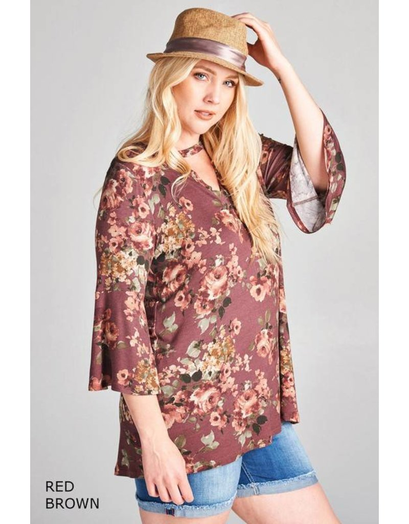 MAHOGANY BLOOM TOP