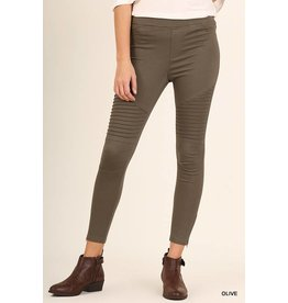 EMERY ZIP ANKLE MOTO LEGGINGS