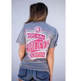 Calamity Jane's COMFORT COLORS HOME OF THE SOONERS TSHIRT