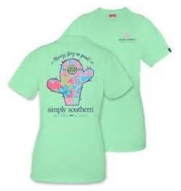 SIMPLY SOUTHERN SIMPLY SOUTHERN TEE- ON POINT CACTUS