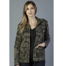 DEAR JOHN JEANS CRAWFORD MILITARY CARGO JACKET