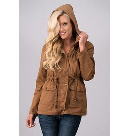 CARGO JACKET WITH FUR LINING