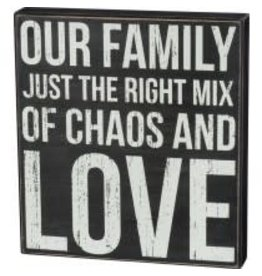 BOX SIGN FAMILY JUST RIGHT MIX