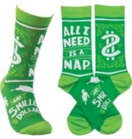 SOCKS NAP AND $5 MIL