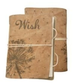 CANVAS NOTEBOOK WISH UNLINED