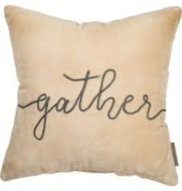 VELVET PILLOW GATHER