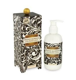 MICHEL HONEY ALMOND HAND AND BODY LOTION 8OZ