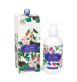 MICHEL SWEET PEA HAND AND BODY LOTION 8OZ