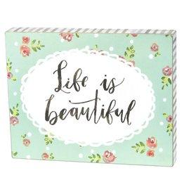 Box Sign - Beautiful