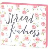 Block Sign - Spread Kindness